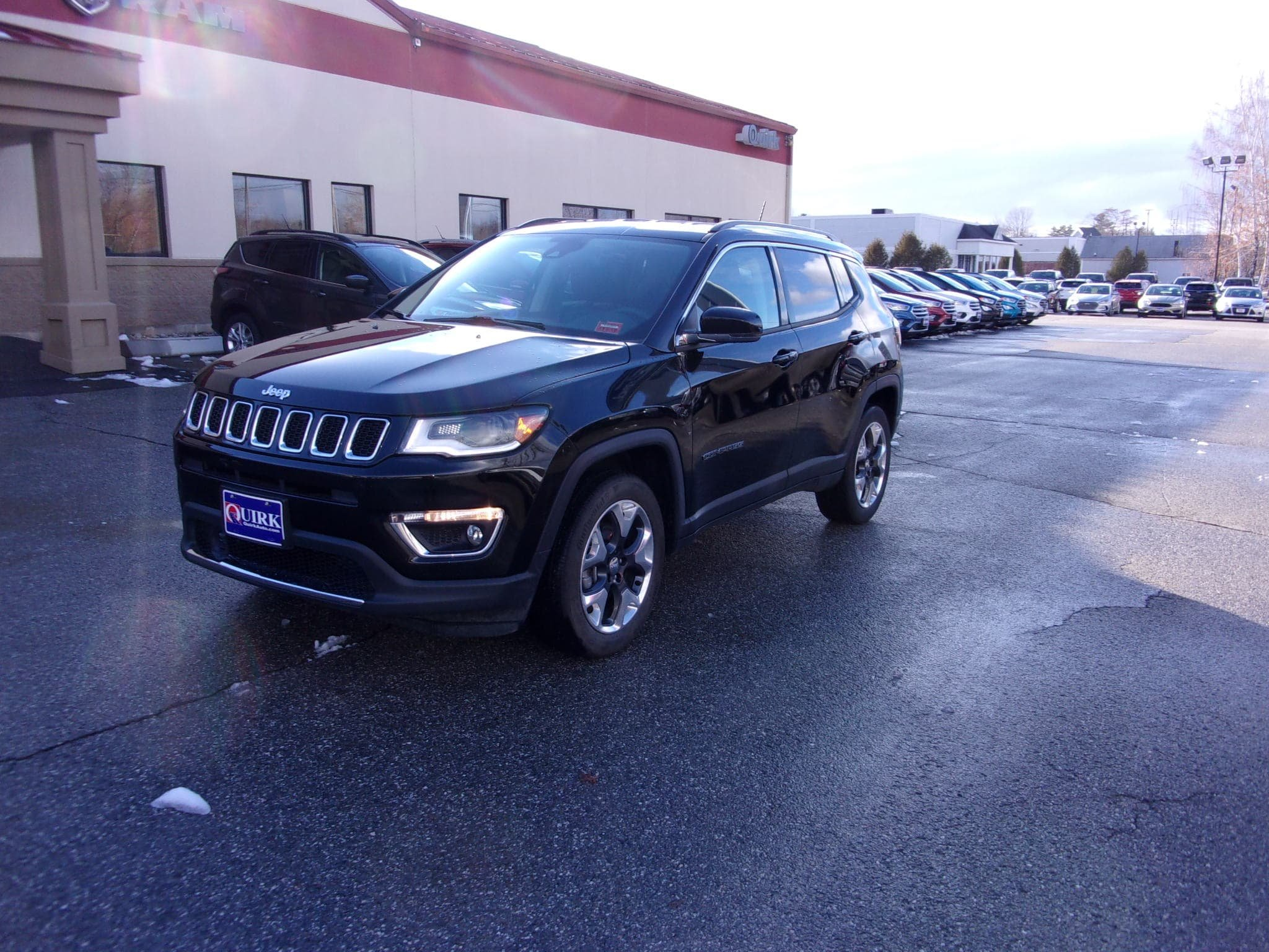 Pre Owned 2018 Jeep Compass Limited Sport Utility In Belfast