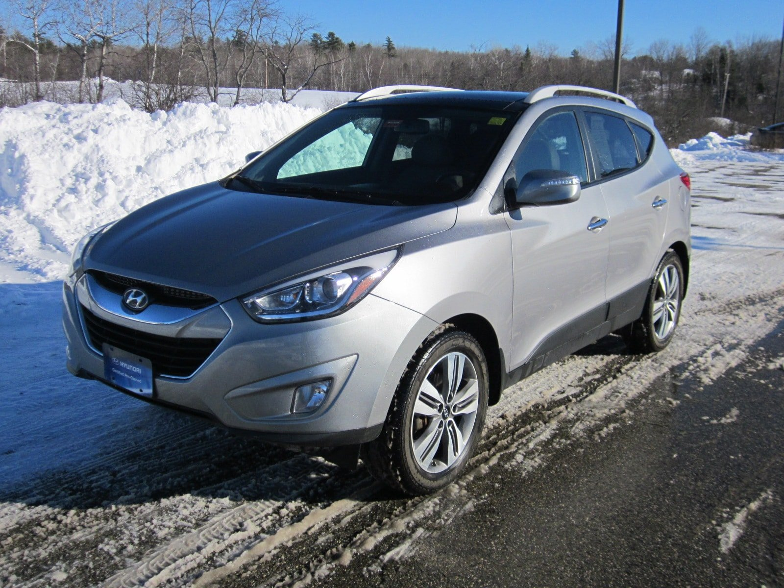 Pre-Owned 2015 Hyundai Tucson Limited